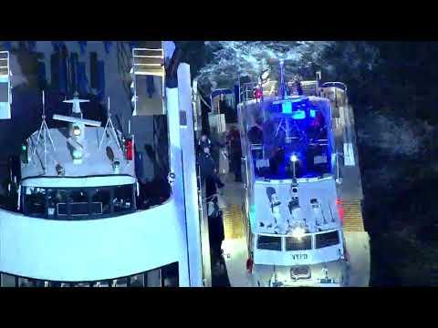 Commuter Ferry Runs Aground Off Wall Street Pier
