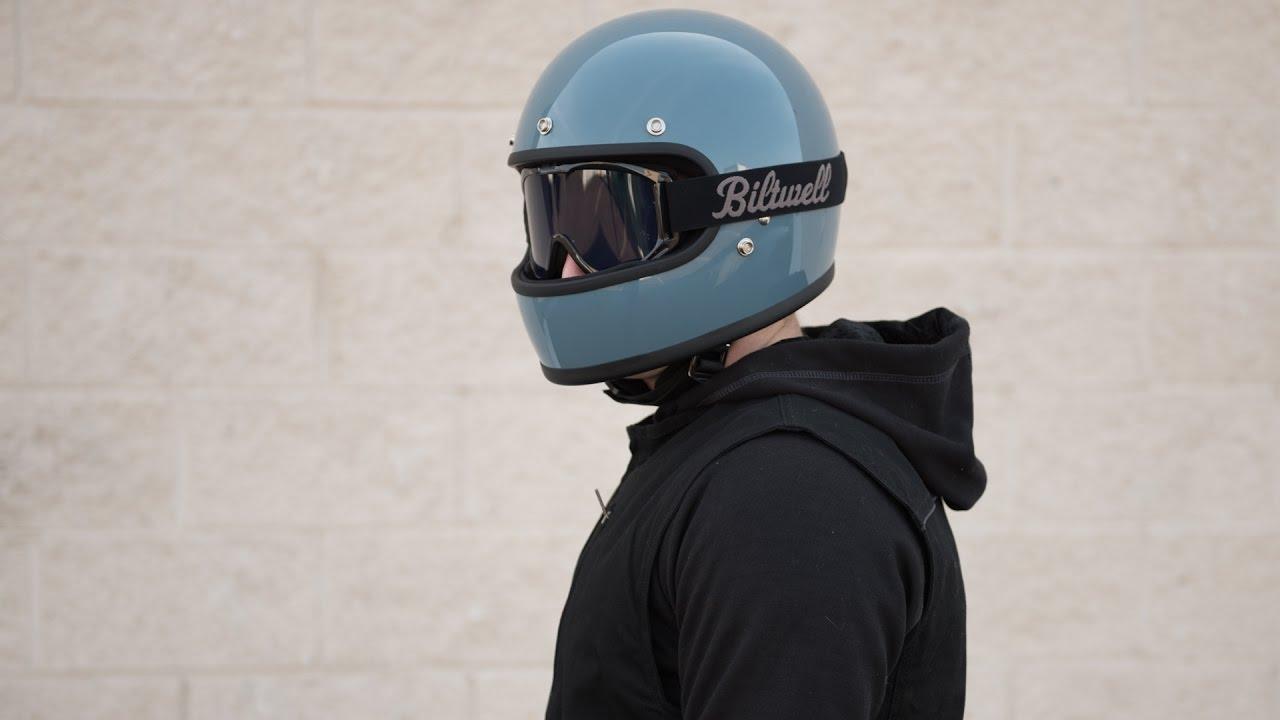 Biltwell Gringo Helmet >> Biltwell Gringo Helmet Review - GetLowered.com - YouTube