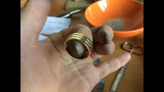 как сделать обручальное кольцо