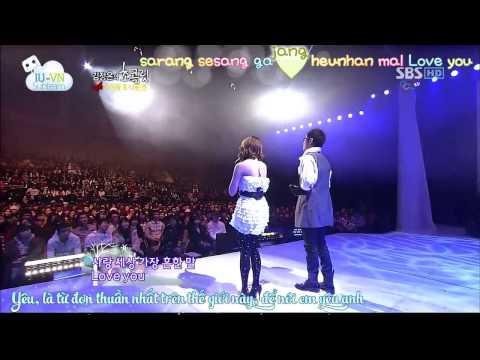 [Vietsub + Kara] Man and Woman (남과여) - Na Yoon Kwon (나윤권) .ft IU (아이유)