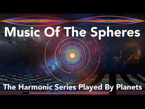 Music Of The Spheres: The Harmonic Series Played By Planets
