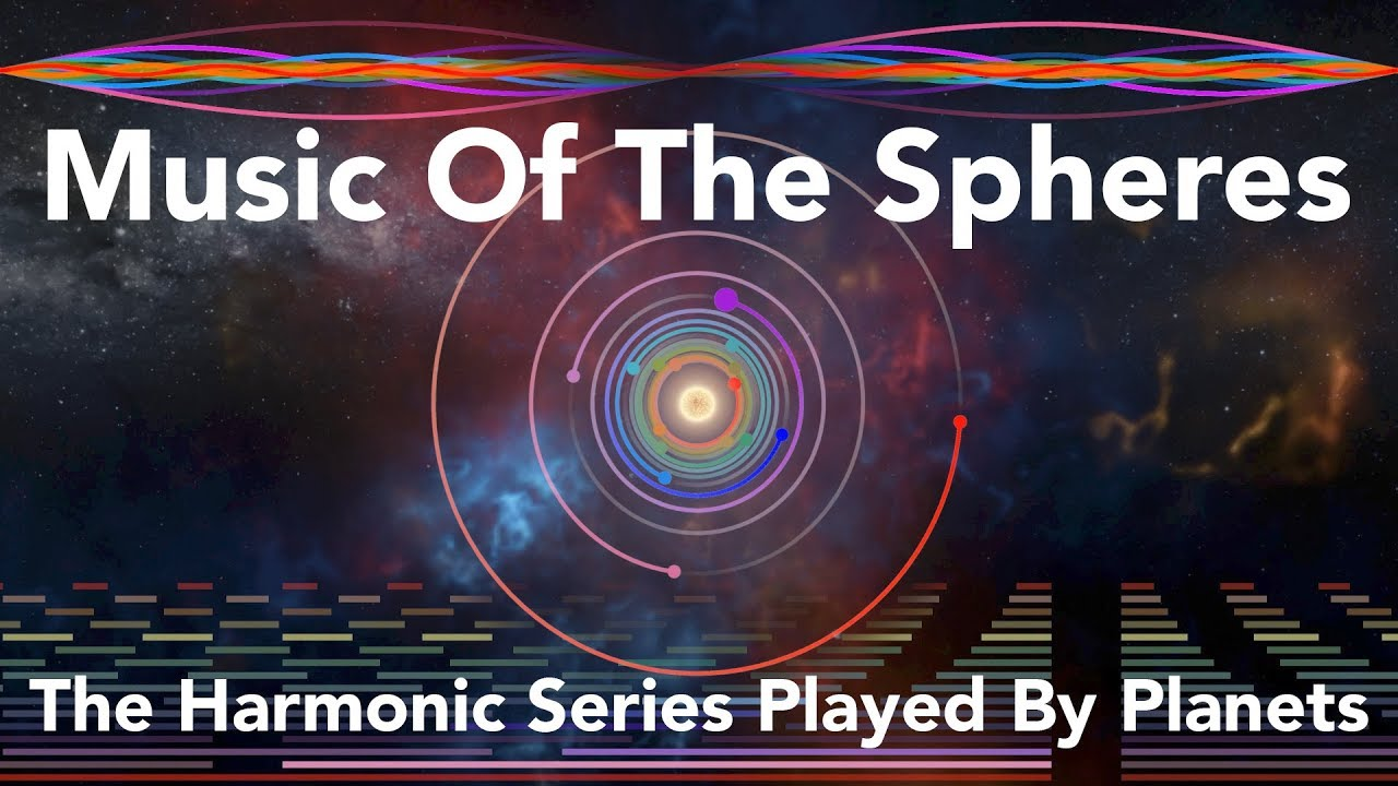 Music Of The Spheres The Harmonic Series Played By Planets Youtube