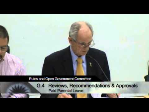 01/08/14 - San Jose City Hall - Rules & Open Government Committee