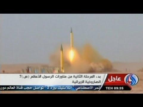 Irán Amenaza A Israel Y A EEUU Con Otra Prueba Balística