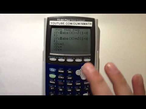 Graphing a heart on TI-83/84 Calculator