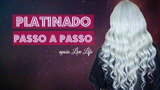 cabelo platinado com descolorao global live life