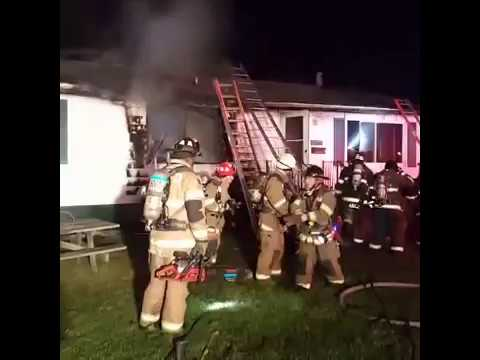 Facebook LIVE Video from House Fire at Windsor Dr. and South Hampton Dr.in Lexington Park