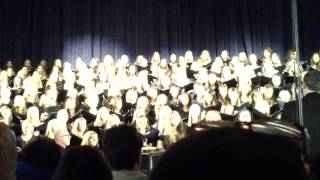 GHS combined choirs Irving Berlin medley March 14