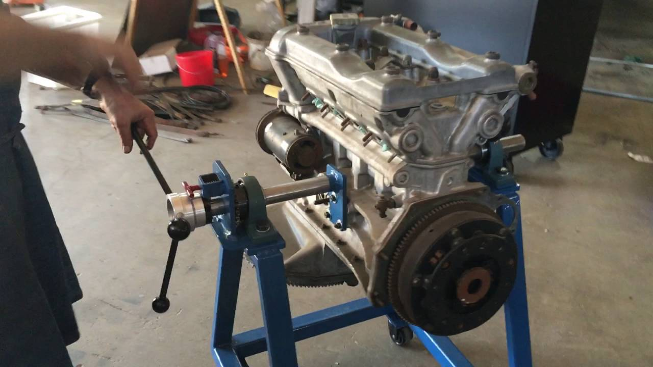Metal Fabrication Alfa Romeo Engine Rebuild Stand Youtube