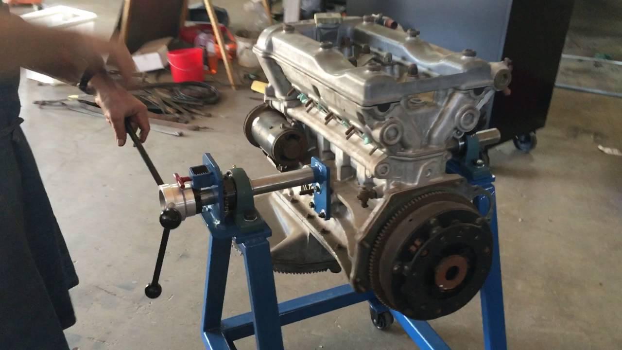 Metal Fabrication Alfa Romeo Engine Rebuild Stand