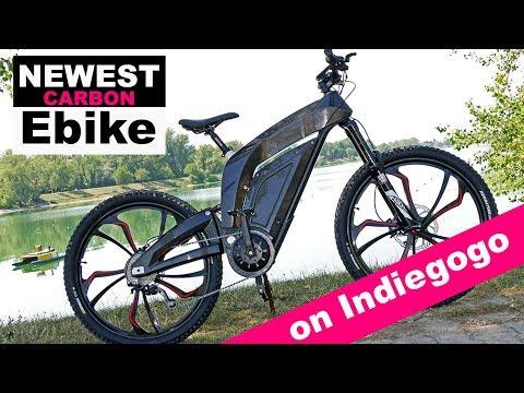 CarbonEV K1 Ebike Indiegogo campaign / NEWEST CARBON EBIKE