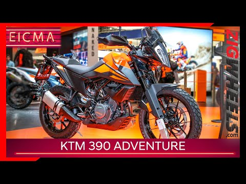 KTM 390 Adventure 2019 Unveiled | All the all-rounder you ever need? | EICMA 2019