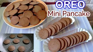 Oreo Mini Pancakes l Fluffy Mini Pancake Recipe