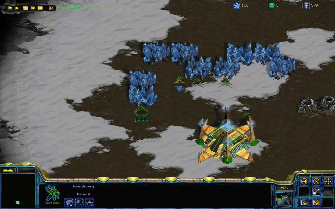 Starcraft Resolution Hack 0 9 Zoom demo