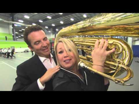 Rick And Jann Arden Join A Marching Band