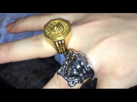 Versace Ring Fake