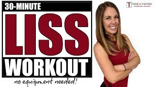 Low Intensity LISS Workout At Home - No Equipment Required!