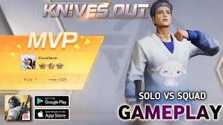 Knives Out Gameplay,Knives Out-No rules, just fight   Knives Out Solo vs Squad Mobile Gameplay 60FPS screenshot 4