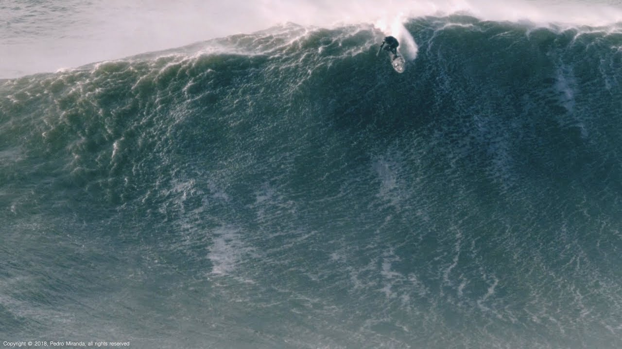 Alone in the War Zone: Alex Botelho @ Nazaré, Portugal - 2018-01-06