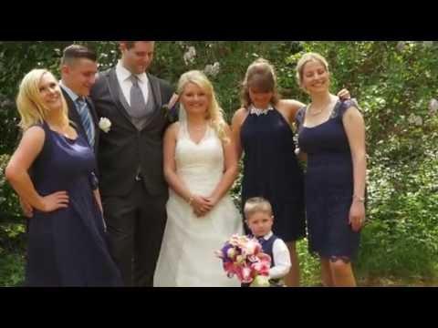 Lydia & Tobias - Fotoshootingclip - DJI Phantom Drohne  - Hochzeitsfilm Waldenburg / CINE EMOTION