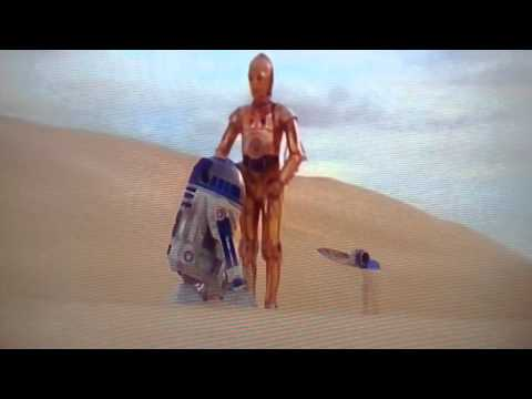 Star Wars A New Hope C-3PO leaves R2-D2