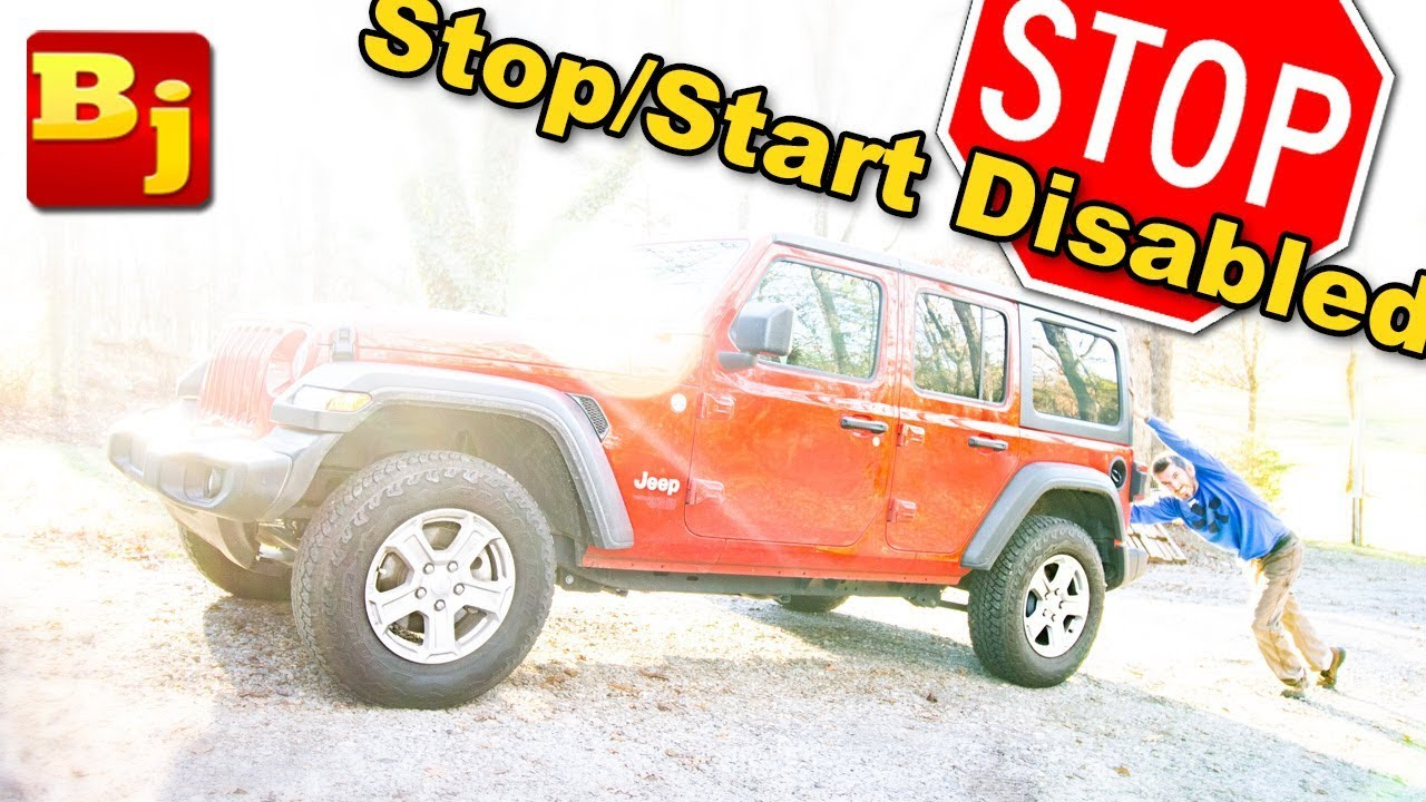 How to Disable the ESS - Auto Start Stop on a Jeep JL