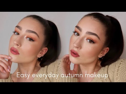 EASY EVERYDAY AUTUMNAL MAKEUP TUTORIAL thumbnail