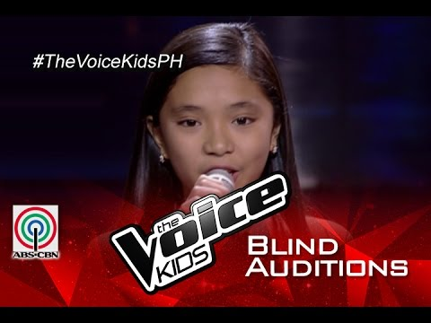 The Voice Kids Philippines 2015 Blind Audition: