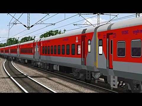 New Delhi - Ranchi Rajdhani Express | Indian Railways : MSTS Open Rails Journey Part 1