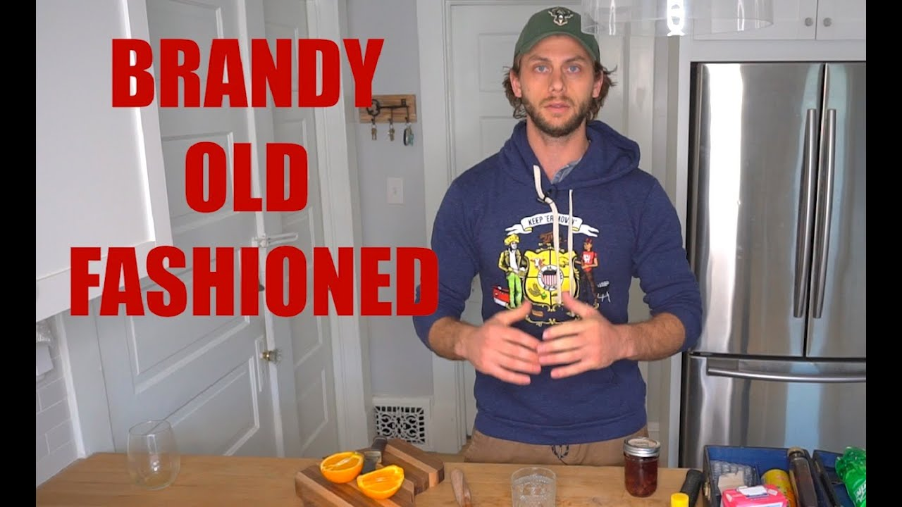 How to Make A Brandy Old Fashioned (and fill out the 2020 Census) - Quarantine Kitchen