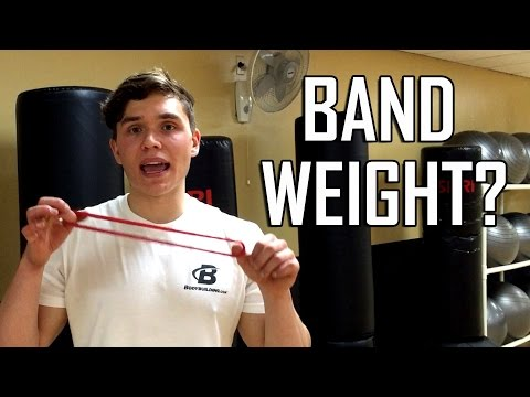 How to Determine the Weight Tension of Resistance Bands