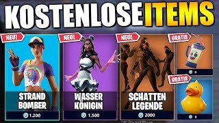 15 FREE Items, Pickaxes & MORE 🎁 All NEW Skins and Dances | Fortnite Neue Skins German