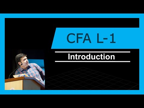 CFA Level -1   Introduction   All about CFA   2017