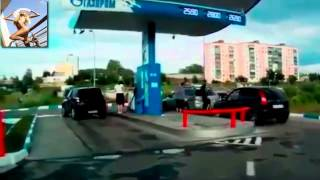 приколы  женщины за рулем