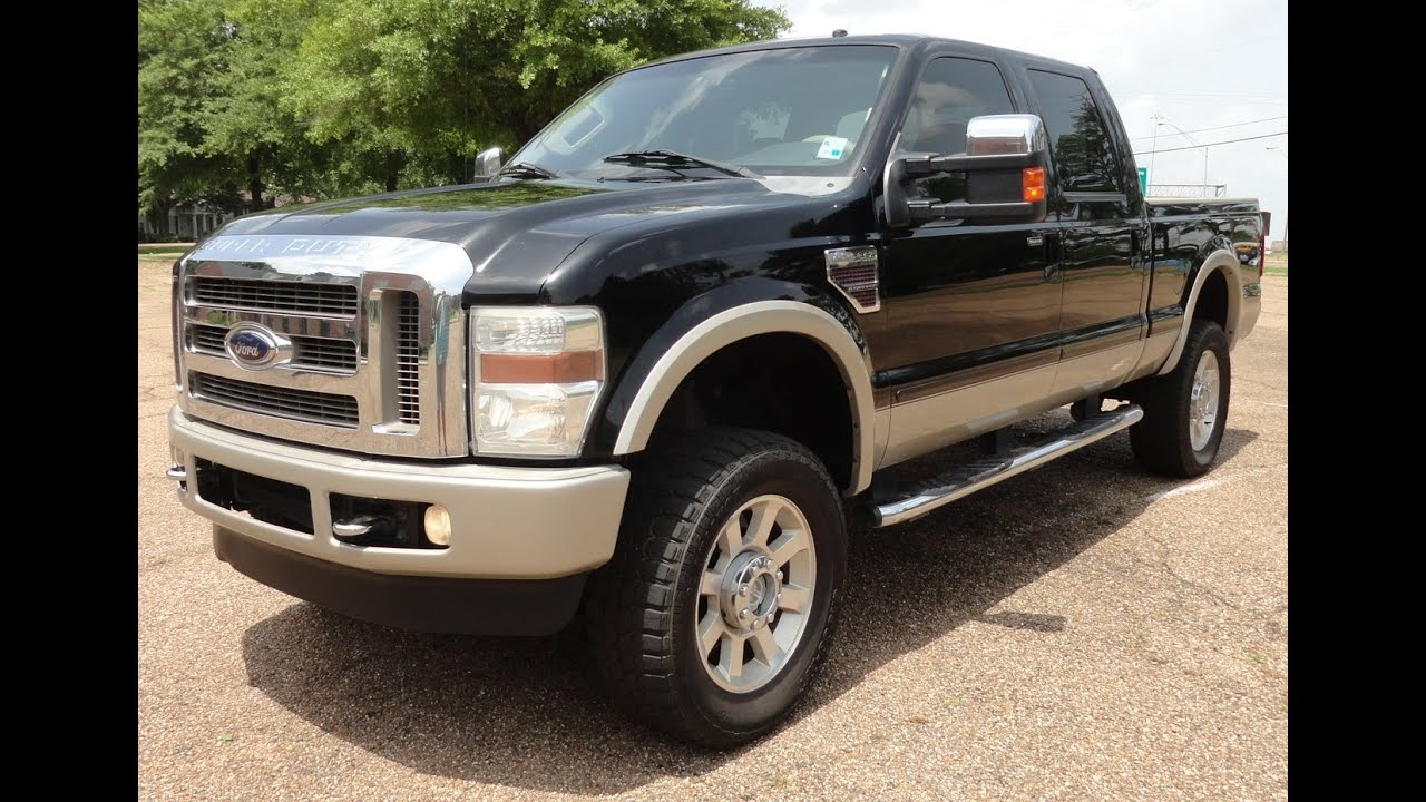 2008 ford f250 king ranch 4x4 test drive youtube. Black Bedroom Furniture Sets. Home Design Ideas
