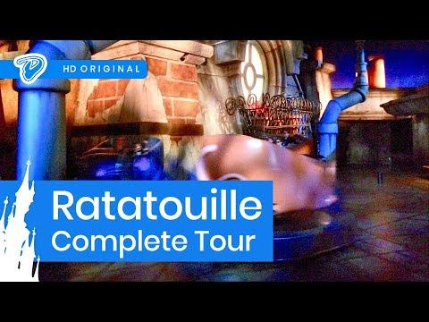 Disneyland Paris Ratatouille On-ride Complete Tour - L'Aventure Totalement Toquée de Rémy Onride POV