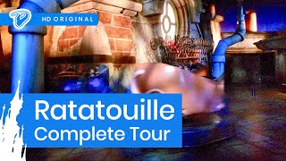 Disneyland Paris Ratatouille On-ride Complete Tour - L