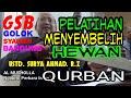 Pelatihan menyembelih hewan Qurban oleh, Ustadz Surya Ahmad Raharjo. Z