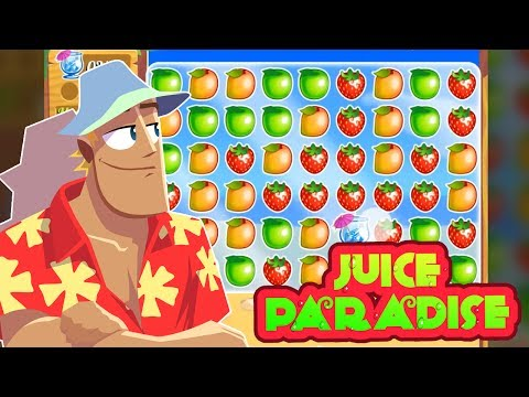 Juice Paradise - Puzzle and Arcade Game for iPhone and Android