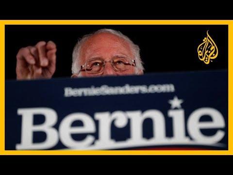 ???? السيناتور الديمقراطي ساندرز يعزز فرصه في منافسة #ترامب  - 08:59-2020 / 2 / 23