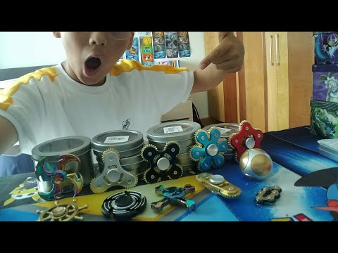 BEST SPONSORSHIP YET????||12 FREE SPINNERS UNBOXING FROM LIGHTAKE!!!!