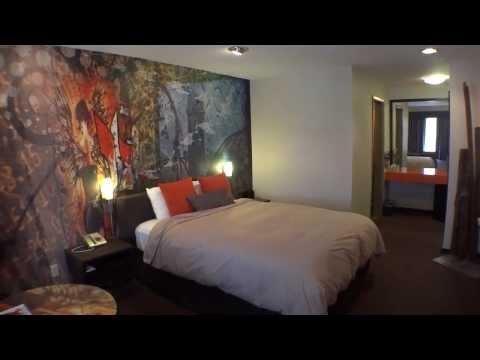 Room Tour- Tangerine Hotel Burbank California