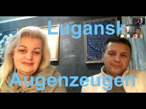 Augenzeugen in #Lugansk: