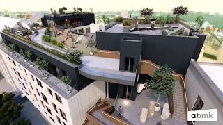 Сквер, літній театр та галерея на даху - у Львові представили унікальну архітектурну концепцію