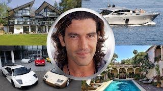 ANTONIO BANDERAS ● BIOGRAPHY ● House ● Cars ● Family ●  Net worth ● 2017
