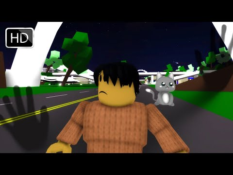 Roblox BrookHaven RP Ghost Sighting (Scary Full Movie)
