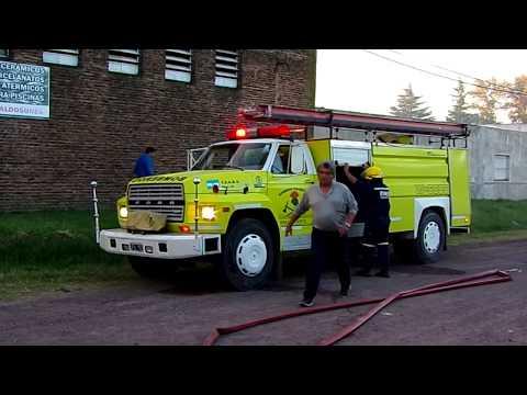 Venado Tuerto Fire Department Responding To Fire. // Bomberos Voluntarios De Vdo Tto.