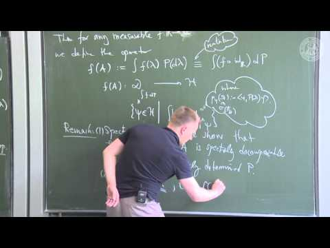 Spectral Theorem - L11 - Frederic Schuller