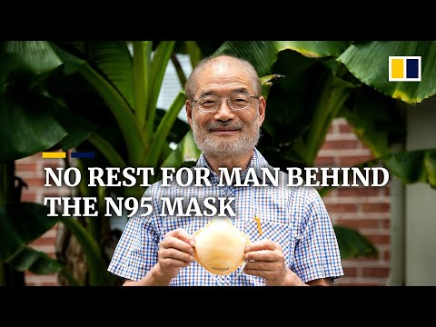 Mask inventor Peter Tsai puts retirement on hold to help ease N95 shortage in the US