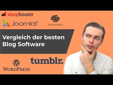 Blog Software: Vergleich der besten Blog Systeme in 2019